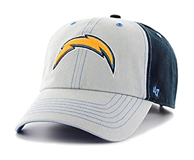 "San Diego Chargers 47 Brand NFL ""Tumult"" Clean Up Adjustable Hat by 47 Brand"