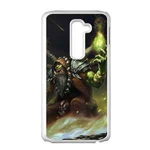 LG G2 phone case White World of Warcraft WOW Gul'dan TTR6949365