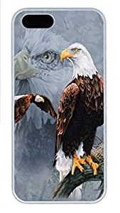 IPhone 5/5S Case Eagle Flag PC Hard Plastic Case for iPhone 5/5S Whtie