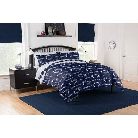 Official Penn State Nittany Lions Queen Bed in Bag Set