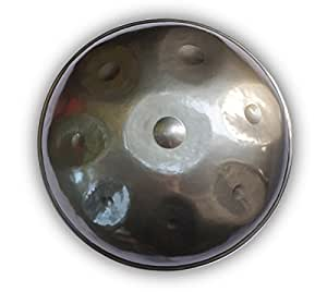HANDPAN BALI STEEL PAN SCALE GUDU+ GOOD QUALITY BAG + FAST FREE SHIPPING BY EMS