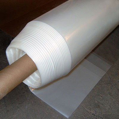 Gt4 6 Mil Uv Treated Standard Clear Greenhouse Film, 14′ Wide X 25′ Long