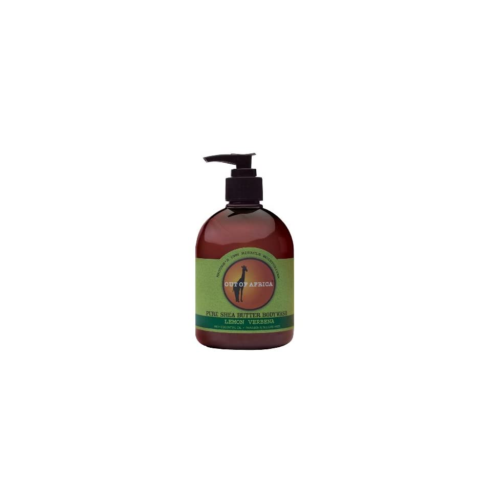 Out Of Africa Verbena Shea Butter Body Wash, 16 Ounce Bottle Beauty