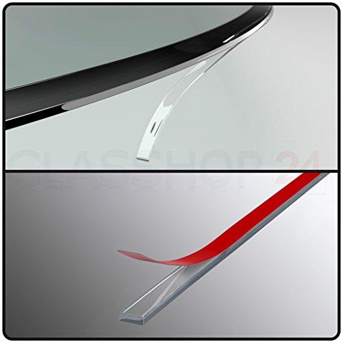 Silikon Dichtlippe / Kostenloser Versand / Schmutzlippe für Kaminplatte / Glasbodenplatte / Ofenplatte / Bodenplatte / Kaminofenplatte - 4,5m glasklar
