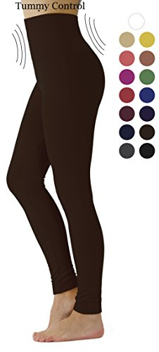 Prolific Health Women's Leggings High Waist Fleece Lined Premium Buttery Ultra Soft Solid Slimming Regular and Plus Size