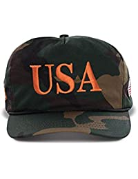 Official USA 45th Presidential Hat Embroidered USA Logo Cap for Men   Women  - Camo 27c105f82