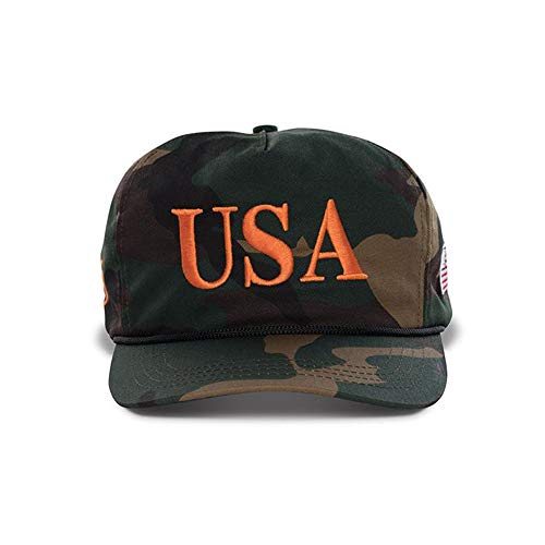 Official USA 45th Presidential Hat Embroidered USA Logo Cap for Men & Women - Camo