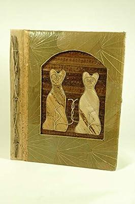 CAPRILO. Álbum de Fotos Decorativo Envejecido Gatos. Portafotos y ...