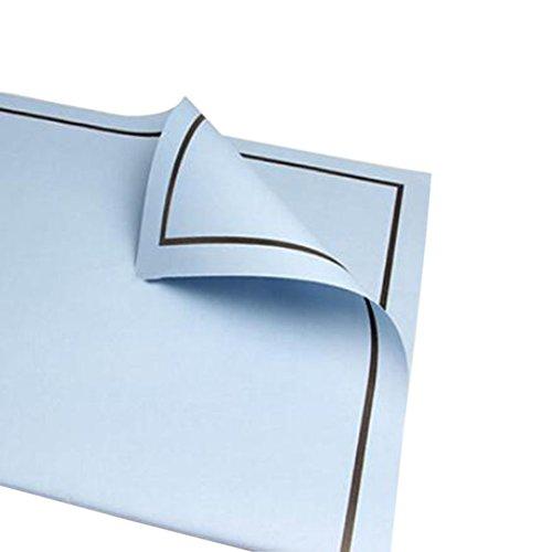 Modern Gift Packaging Paper, 20 PCS Exquisite Flower Packaging Materials