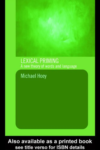 Lexical Priming: A New Theory of Words and Language Pdf