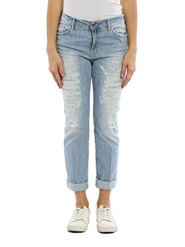 DONDUP Bleu Jeans Coton P611DS153DO58PDH800 Femme xRp16