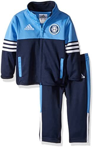 adidas Boys' Zip up Jacket Tricot and Pant Set