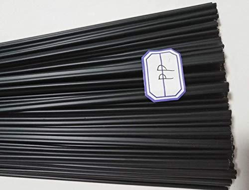 Plastic Welding Rods Bumper Repair ABS/PP/PVC/PE Welding Sticks Welding Soldering Supplies (20PCS BLACK PP)