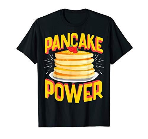 Funny Pancake Power, Bodybuilding Pre-Workout T-Shirt
