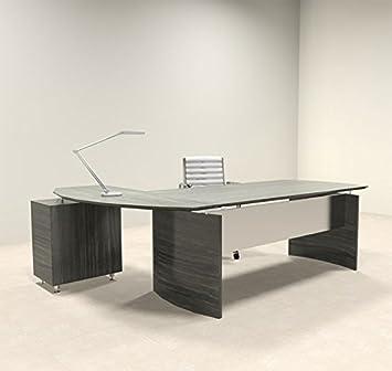 Super 2Pc Modern Contemporary L Shape Executive Office Desk Set Mt Med O4 Interior Design Ideas Inesswwsoteloinfo