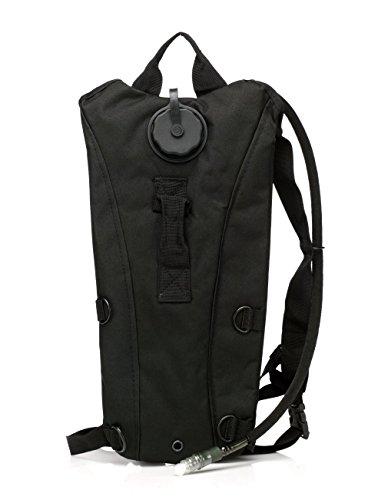 Water Bladder Bag Backpack???? Packs Hiking Camping 2L Black - 4