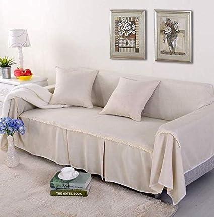 Amazon.com: Slipcover - Funda para sofá de 3 plazas, mezcla ...