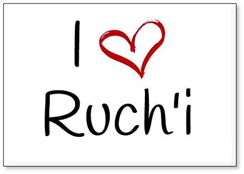 Ruch Design - I Love Ruch'i, fridge magnet (design 2)