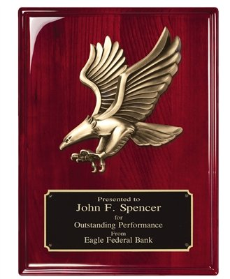 Order Fast Awards Premium Heavy Cast Eagle Plaque 8