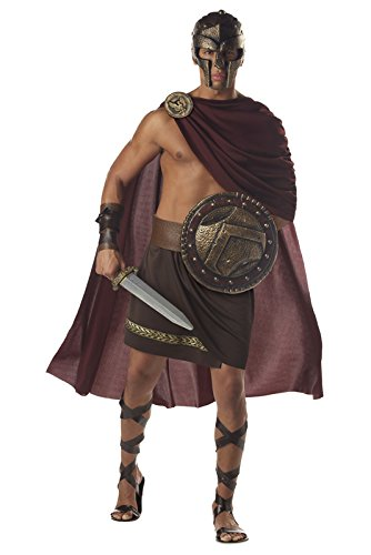 Spartan Warrior Costume Size: (Warriors Halloween Costumes)