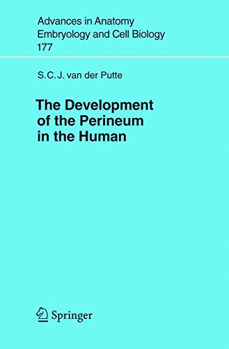 Download The Development of the Perineum in the Human: A Comprehensive Histological Study with a Special Reference to the Role of the Stromal Components (Advances in Anatomy, Embryology and Cell Biology) ebook
