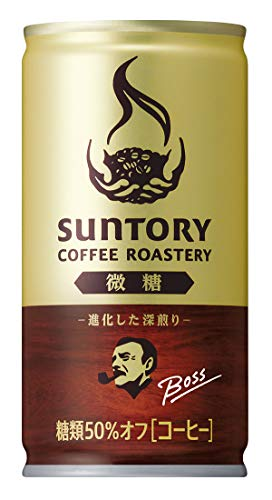 [일본 산토리 보스 캔커피 / SUNTORY BOSS COFFEE] 산토리 보스 커피 로스 tally의 미세하 # 185g관×30개