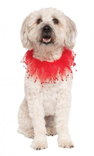 Company Costumes Ruby (Rubies Costume Company Fancy Red Pet Collar, Small/Medium)