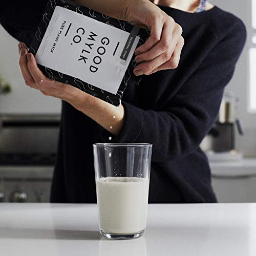 41qYaf6MgPL - Goodmylk Co. - Ready to Drink Hemp Milk (10 Pack) - 8 oz Ready to Drink Packets - Organic, Non-GMO, Vegan, Low Glycemic, Sustainable, Keto, Dairy Free (Original)