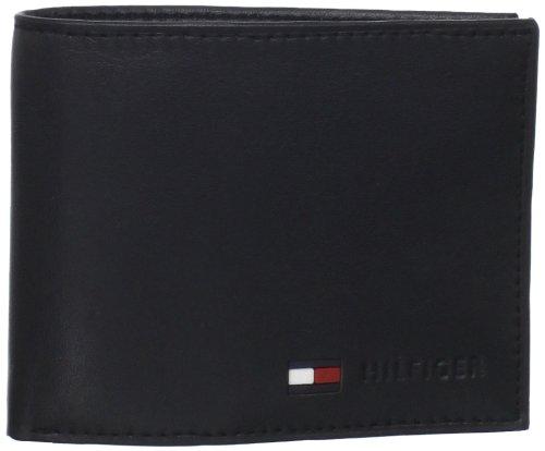 Tommy Coin Hilfiger Men's Wallet Tommy Stockon Hilfiger Black fqpS5
