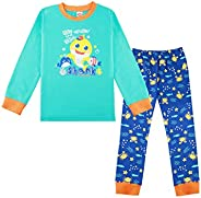 Kids Boys Shark Life Under The Sea Toddler Pjs Set Baby Pajamas Nightwear Nightie Sleepwear