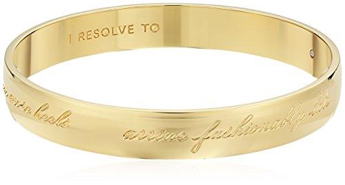 kate spade new york Gifting Engraved Gold Bangle Bracelet