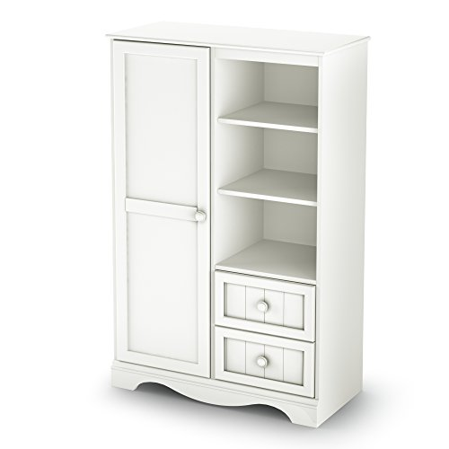 South Shore Savannah Collection Door Chest, Pure White for sale  Delivered anywhere in USA