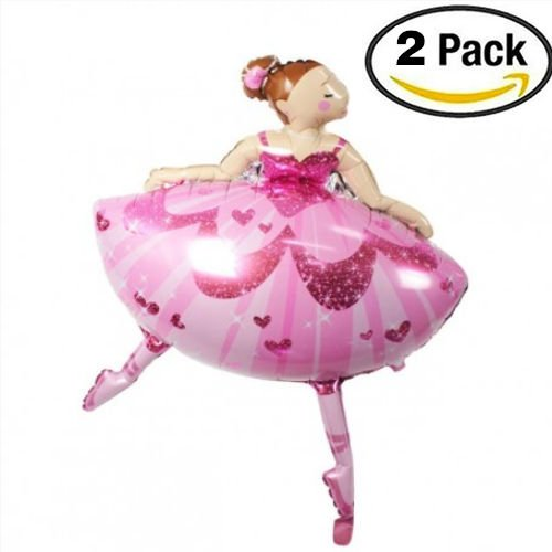 2 Pcs Large Helium Balloons Decorations,Foil Balloon,Two 35