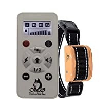 """""""BRAND NEW MODEL"""" - Our K9 """"CINNAMON"""" - SMALL to MEDIUM DOGS - Remote Training Collar Sound, Vibration & Shock - Pain Free - RECHARGEABLE - Waterproof - EFFECTIVE SMALL DOG TRAINING COLLAR"""