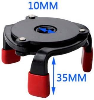 DOITOOL 3PCS Universal /Ölfilterschl/üssel 3 Backen Einstellbare /Ölfilterschl/üssel Remover-Tool geh/ören 1//2-3//8 Zoll und 1//4-3//8 Zoll Vierkant-Adapter