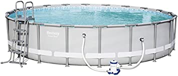 Bestway Piscina Desmontable 610x122 Cm 56675: Amazon.es ...