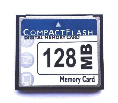Compact Flash Memory Card 128MB Camera Card, Numerical Control Advertising Machine Tool Memory Card - 128mb Cf Compactflash Memory Card
