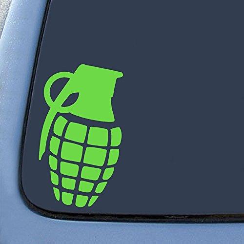Dripping Grenade Snowboard Sticker Decal Notebook Car Laptop 5