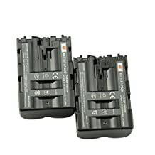 DSTE® 2x NP-FM500H Replacement Li-ion Battery for Sony Alpha a99 II SLT A77V A77II A350 A450 A500 A550 A700 A850 A900 CLM-V55 DSLR Camera as NP-FM500