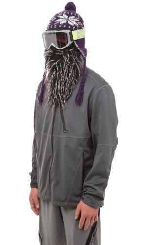 Beardski Daze Face Mask, Black