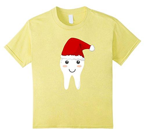 Kids Cute Tooth Fairy Costume Shirt with Santa Cap for Christmas 8 (Tooth Fairy Halloween Costume Ideas)