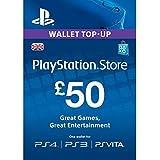 PLAYSTATION Network Card £50 (輸入版:UK版:プレイステーションネットワークカード 50ポンド)