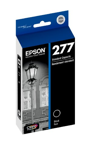 Epson T277120 Epson Claria Photo HD 277 Standard-capacity Black Ink Cartridge (T277120) Ink