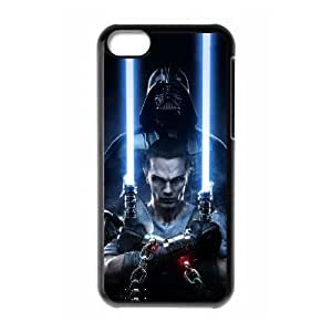 iPhone 5c Cell Phone Case Black Star Wars Phone Case Cover Design Customized CZOIEQWMXN22541