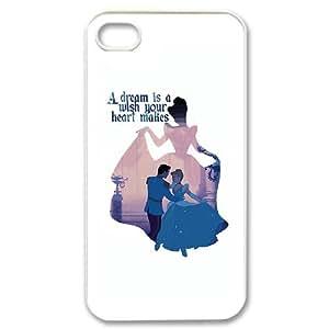 iPhone 4,4S Phone Case Cover Cinderella CC8940