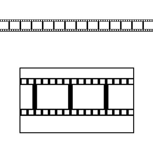 Filmstrip Border Trim Party Accessory (1 count) (12/Pkg)