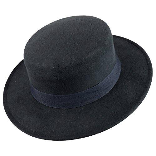 1eb25587d90 Trendy Apparel Shop Women s Poly Faux Felt Panama Hat With Text  100% Me