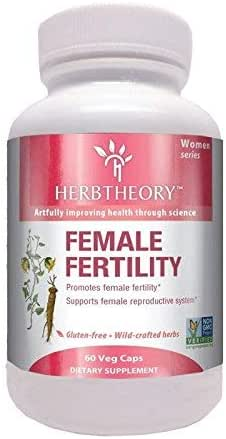 Herbtheory Female Fertility Supplement for Women (950mg, 60 Capsules)
