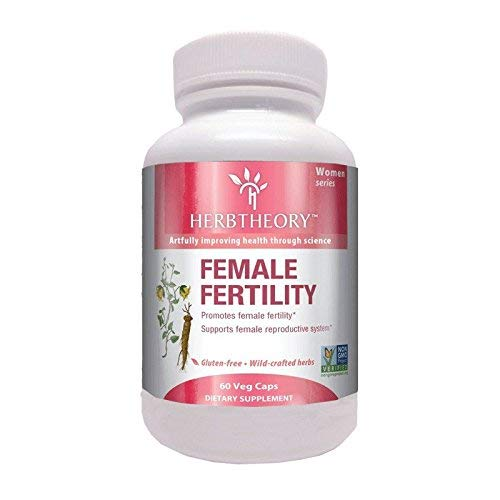 Herbtheory Female Fertility Supplement for Women (950mg, 60 Capsules) (Best Medicine To Get Pregnant)