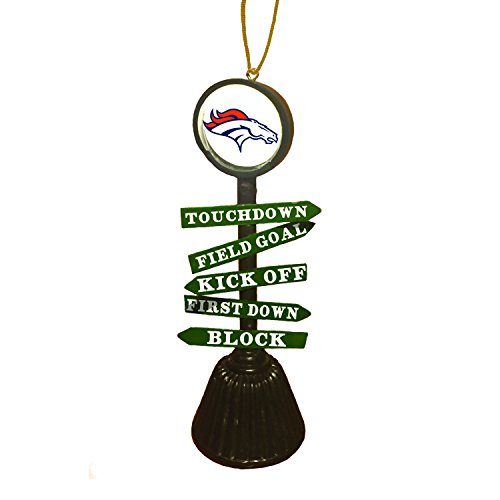 Team Sports America 3OT3809FC Denver Broncos Fan Crossing Ornament